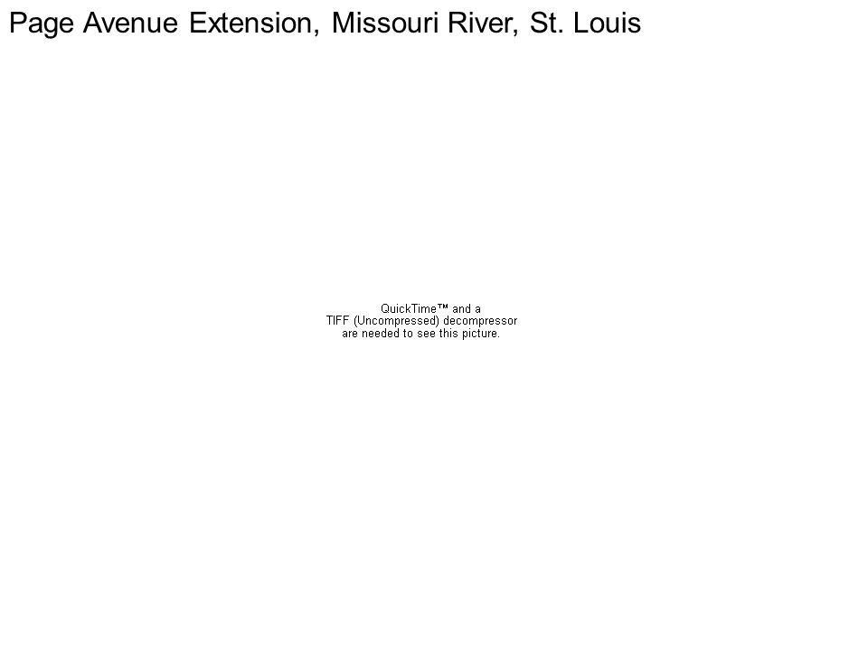 Page Page Avenue Extension, Missouri River, St. Louis
