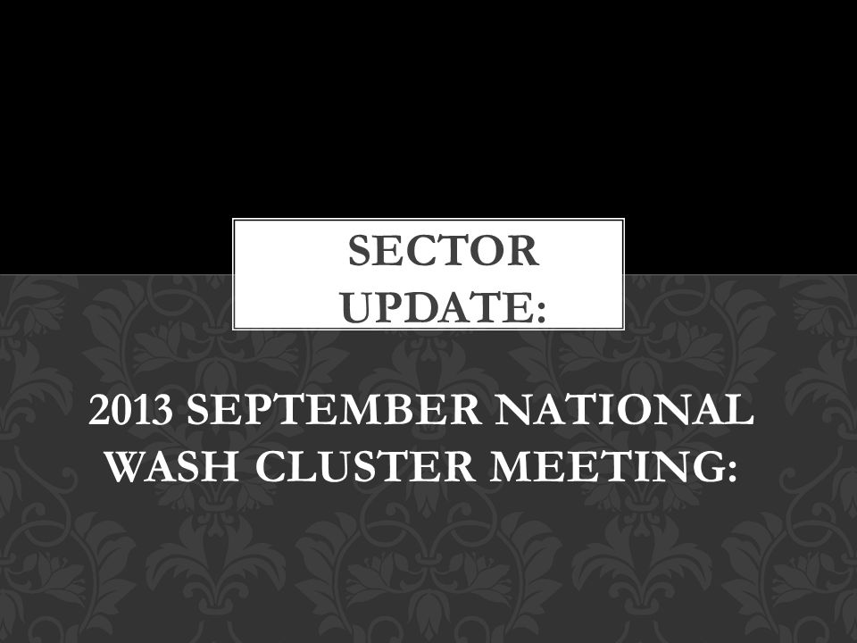Provincial WASH Committees now able to report efficiently and effectively courtesy of support from GAA.