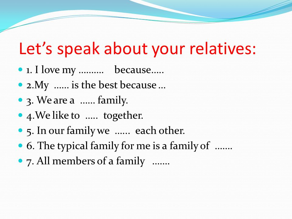 What Makes a Family Happy.Write down your ideas about the main characteristic of a happy family.