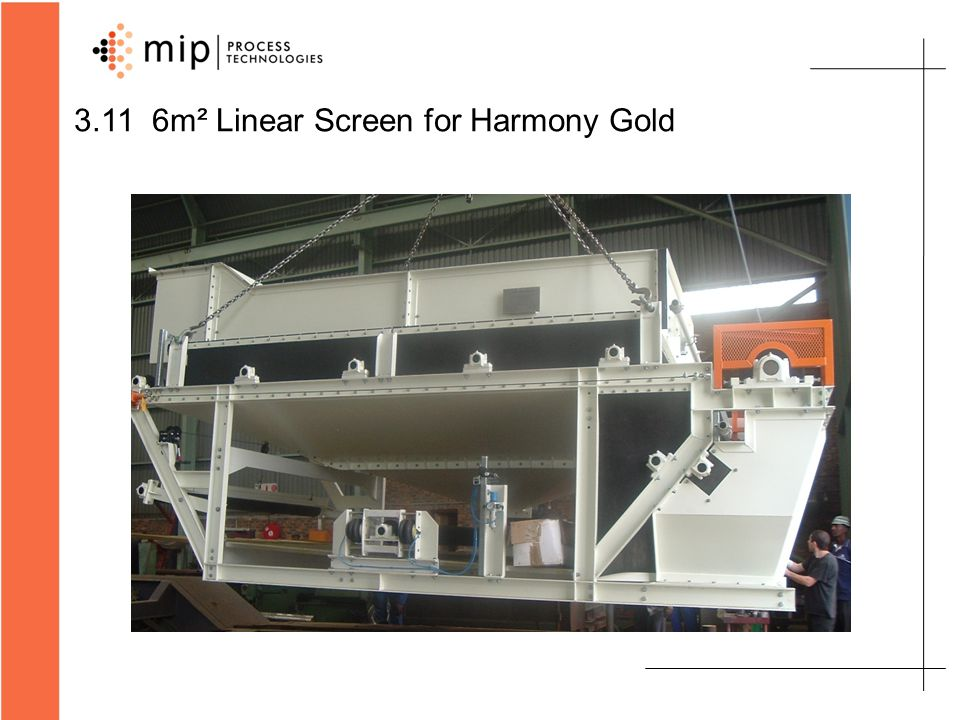 3.11 6m² Linear Screen for Harmony Gold