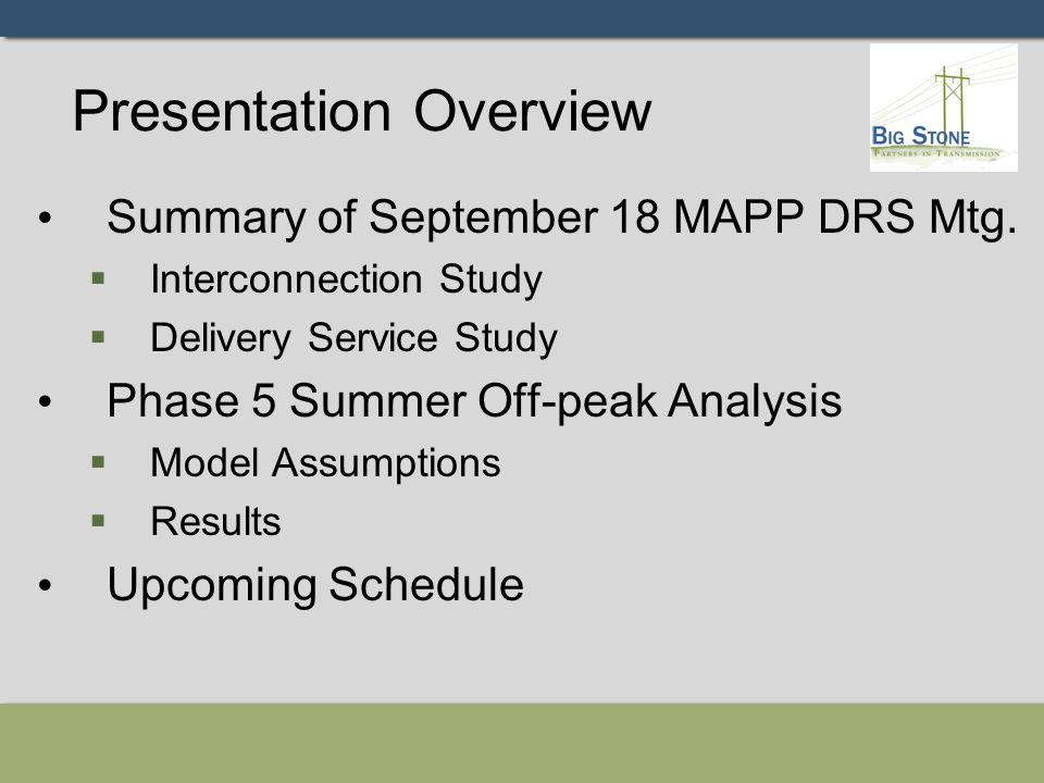 Recap of Sept.18 DRS Mtg.