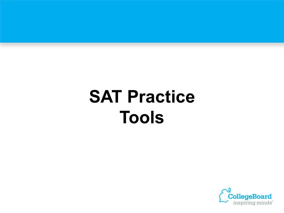 SAT Practice Tools