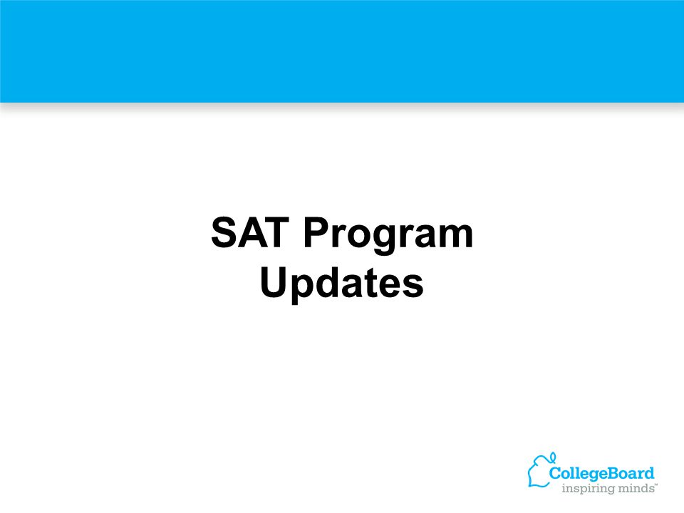 What's New With the SAT at Collegeboard.com The College Board Web site is a top resource for students and educators.