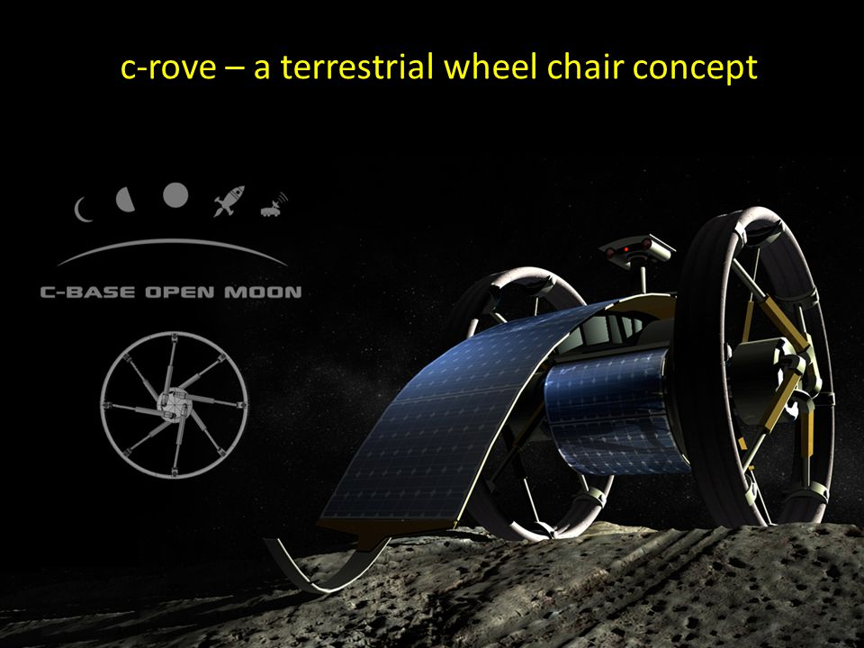 c-rove – a terrestrial wheel chair concept