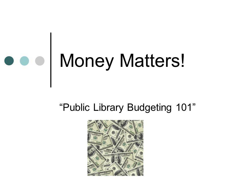 Program Budget Divide salaries, supplies, materials, etc.