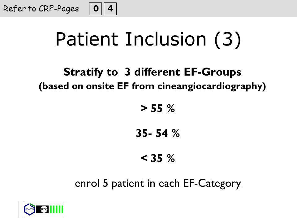 LV-Volumes and EF WMA Segmental Evaluation Refer to CRF-Pages 2 6 Cardiac MRI
