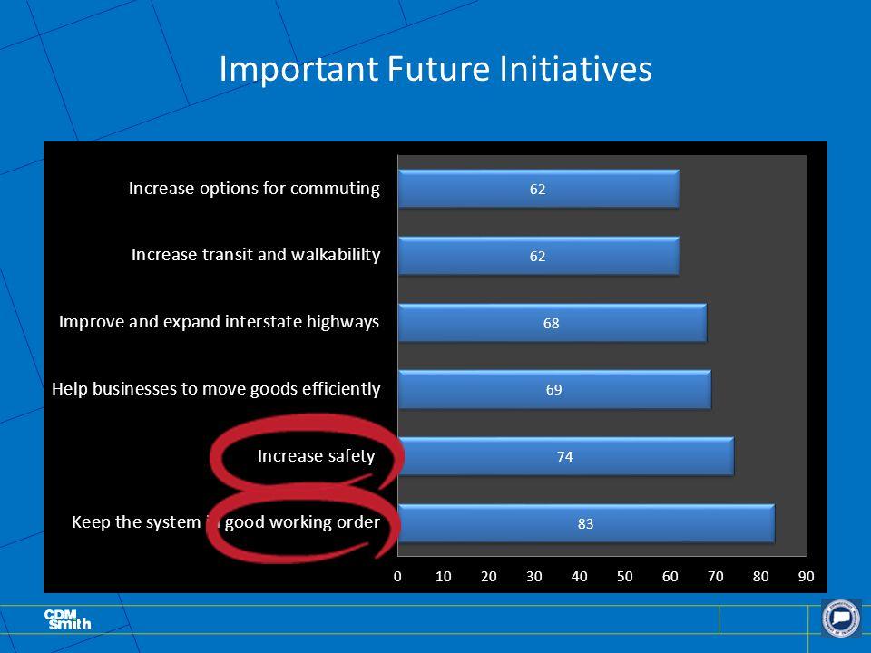 Important Future Initiatives