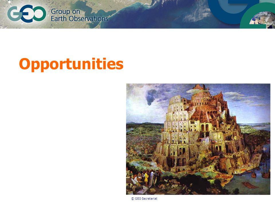 © GEO Secretariat Opportunities