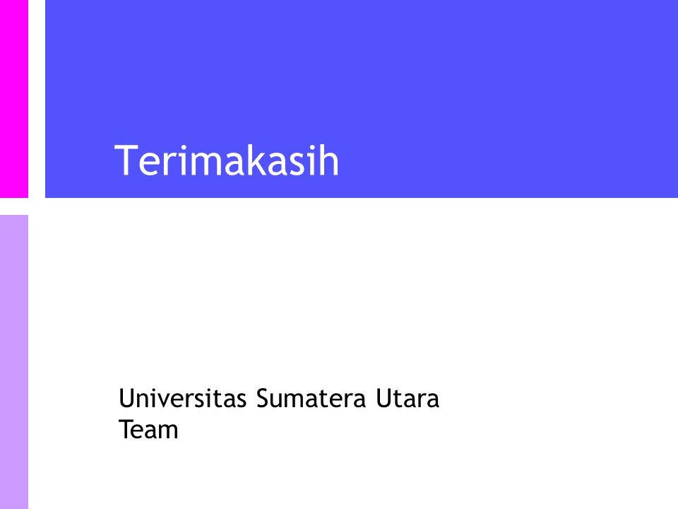 Universitas Sumatera Utara Team Terimakasih