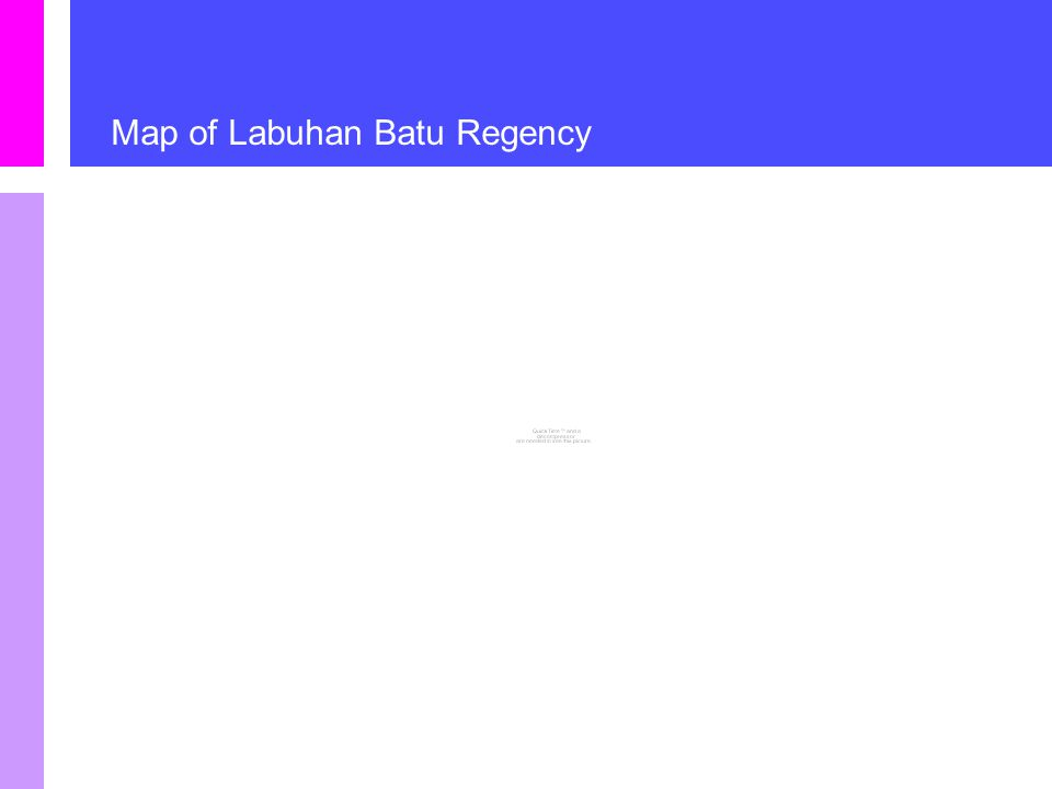 Map of Labuhan Batu Regency