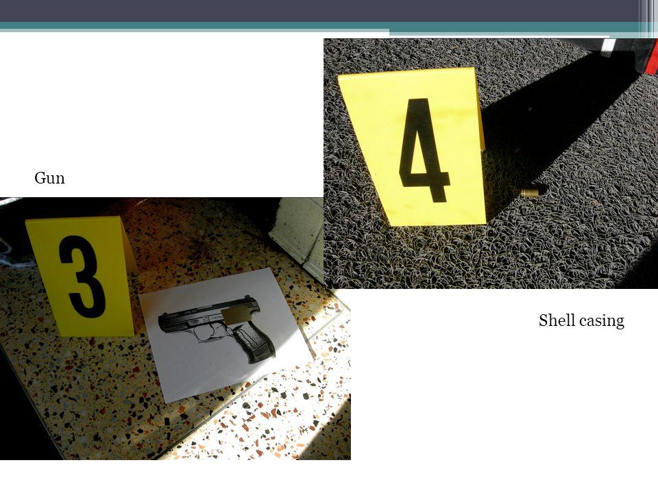 Shell casing Gun