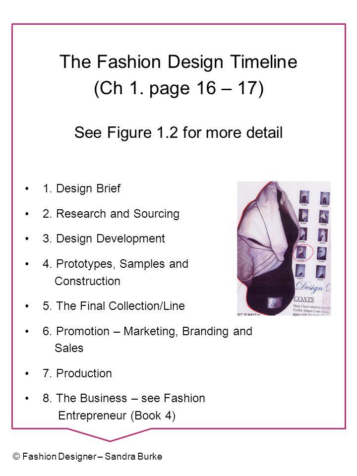 Fashion Designer – Concept to Collection ISBN: 978-0-9582391-2-7 Sandra Burke Design Research and the Fashion Sketchbook Chapter 2 – pages 18-25 © Fashion Designer – Sandra Burke