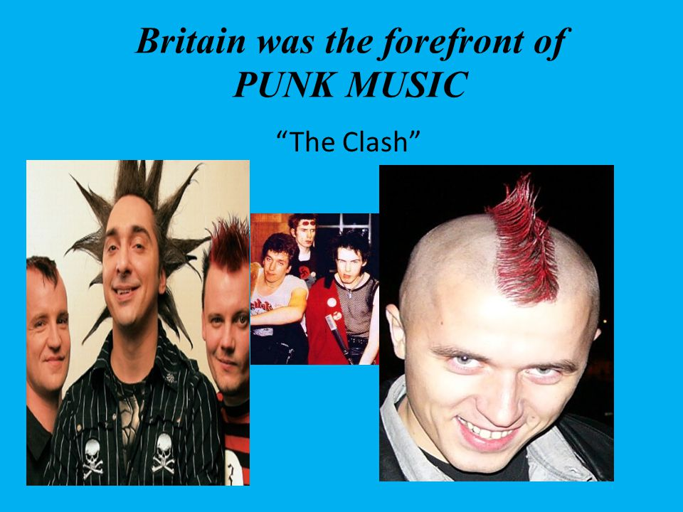 Britain was the forefront of PUNK MUSIC The Clash
