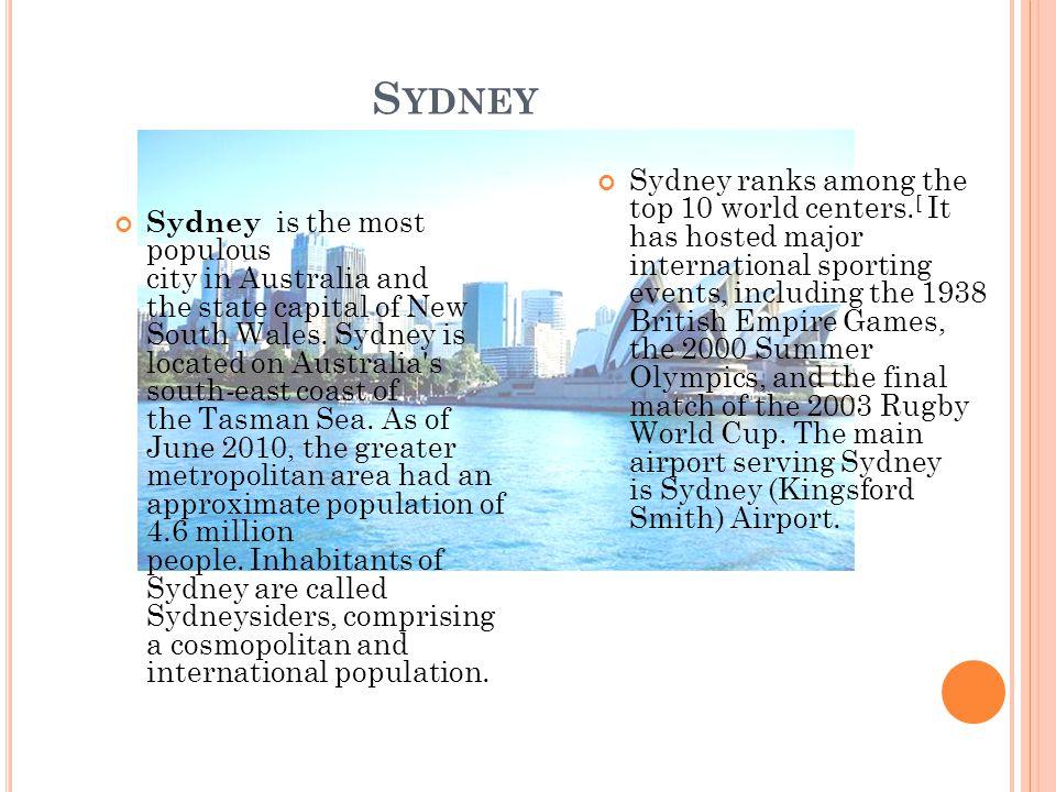 Brisbane Sydney For other city slides click: Australia Pics