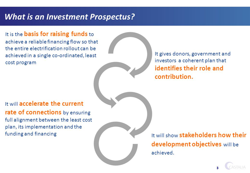 What is an Investment Prospectus. 3....