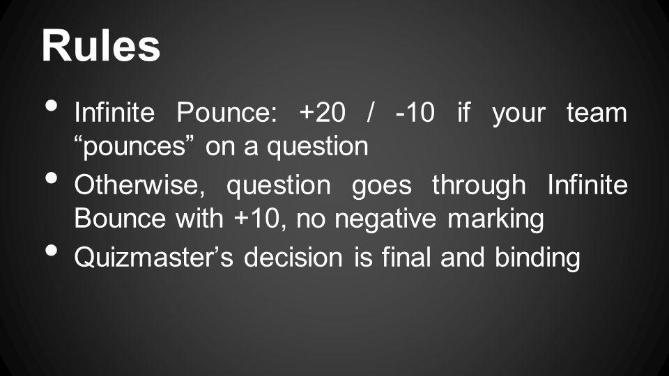 Finals Senior Quiz
