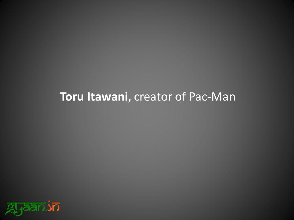 Toru Itawani, creator of Pac-Man