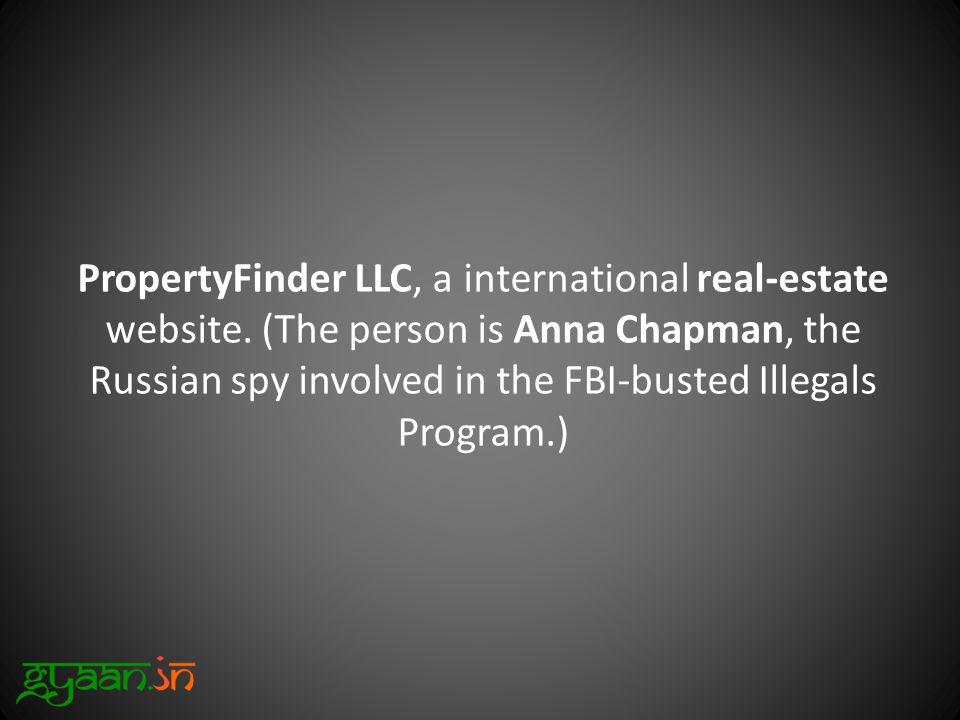 PropertyFinder LLC, a international real-estate website.