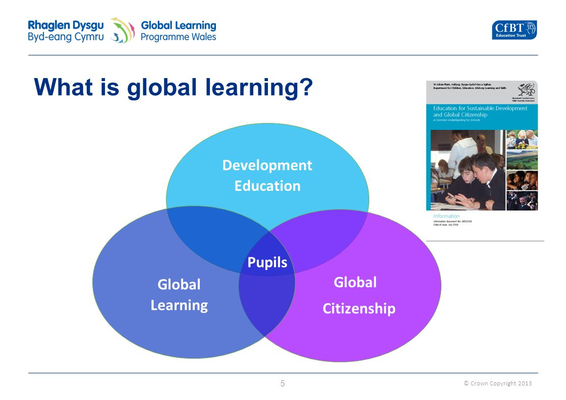 © Crown Copyright 2013 What is global learning.