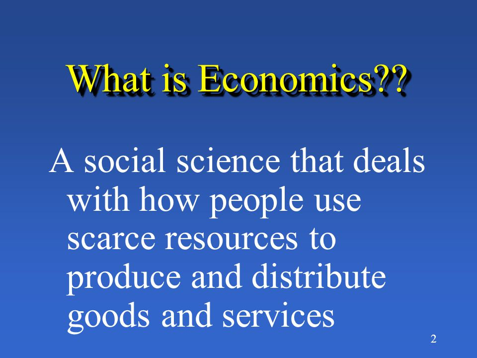 32 What is the purpose of an Economic Model.
