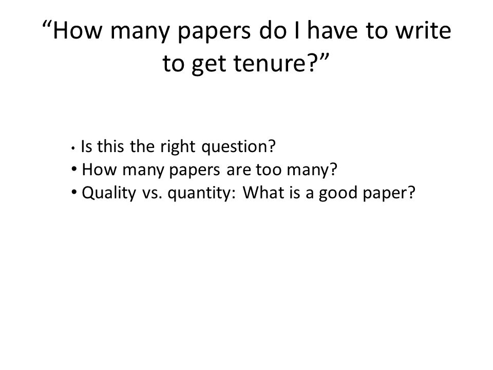 Why write a paper.Does the paper add significantly to the scientific body of knowledge.