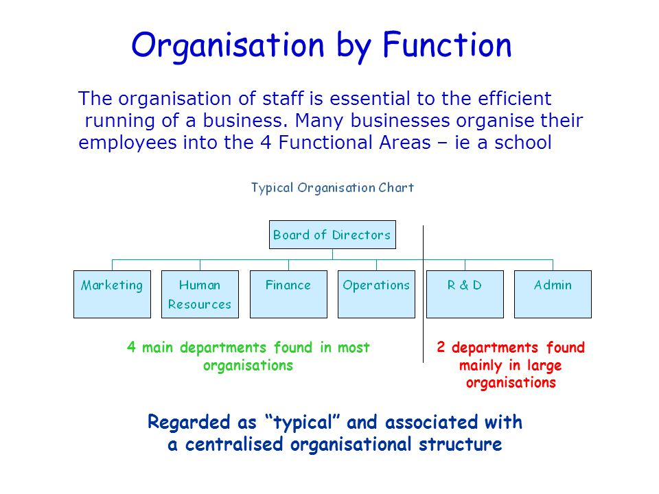 An Organisation An organisation is the rational co- ordination of a number of people for the achievement of some common explicit purpose or goal through the division of labour and a hierarchy of authority. Edgar Schein