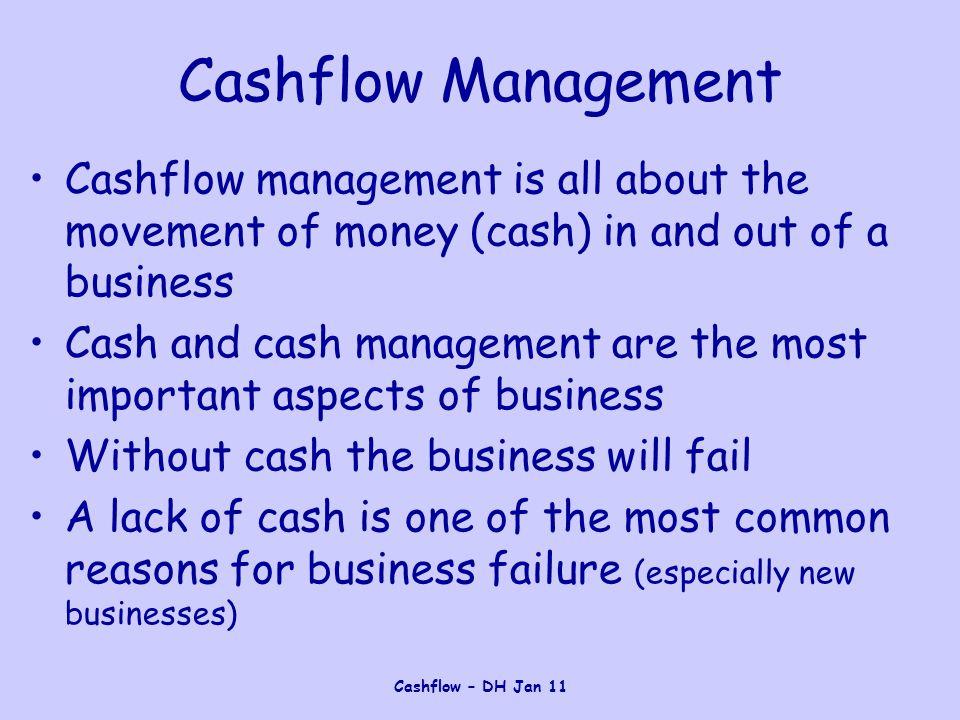 Cashflow – DH Jan 11 Solutions 3.Explain why firms can have a healthy profit but experience cash flow problems.