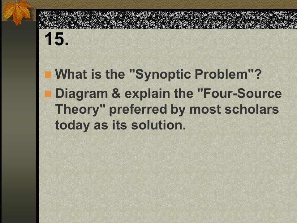15. What is the