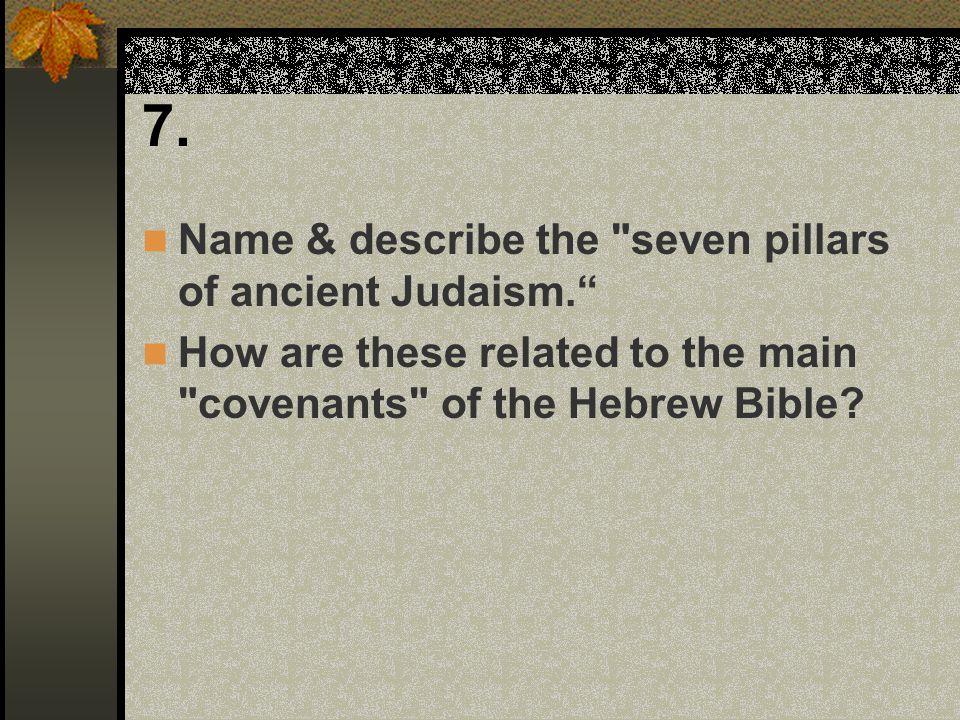 7. Name & describe the