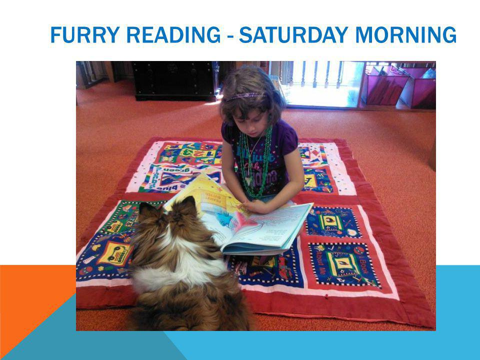 FURRY READING - SATURDAY MORNING