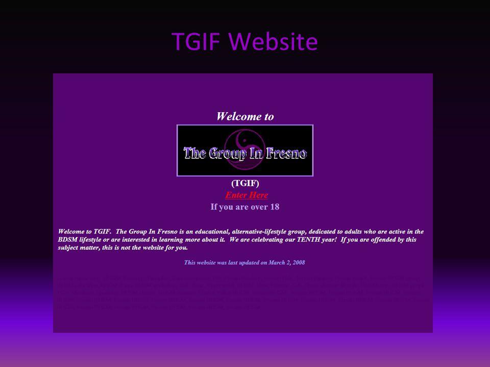 TGIF Website