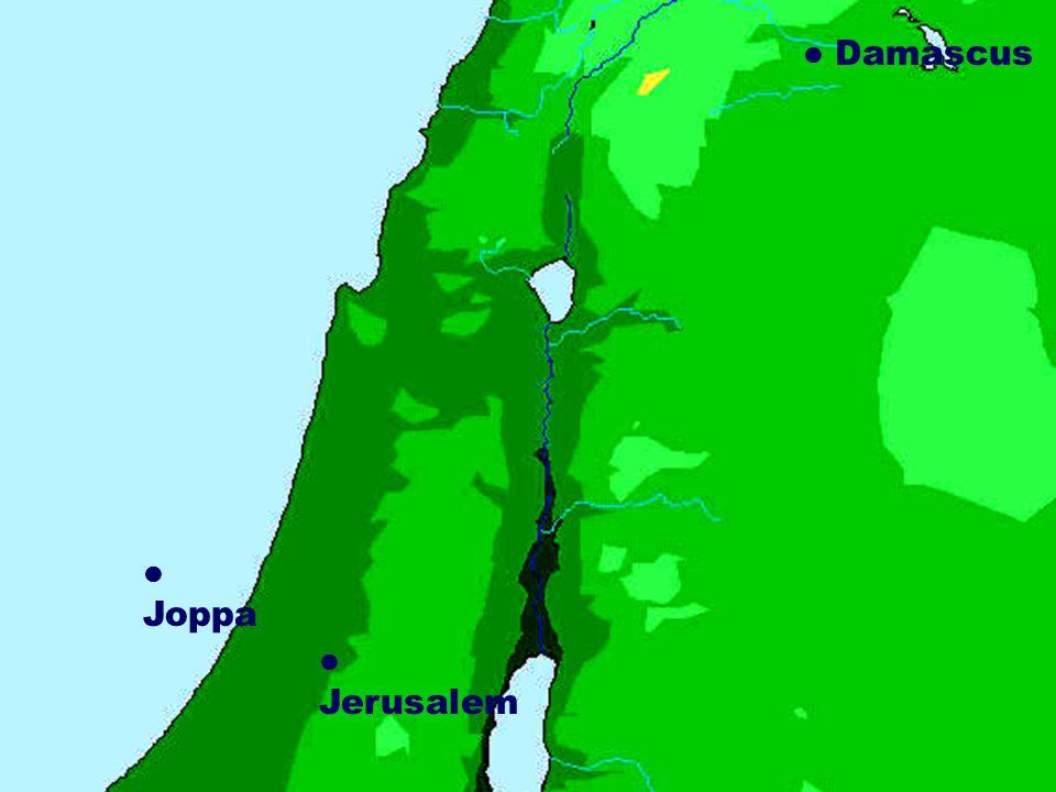 Damascus Jerusalem Joppa