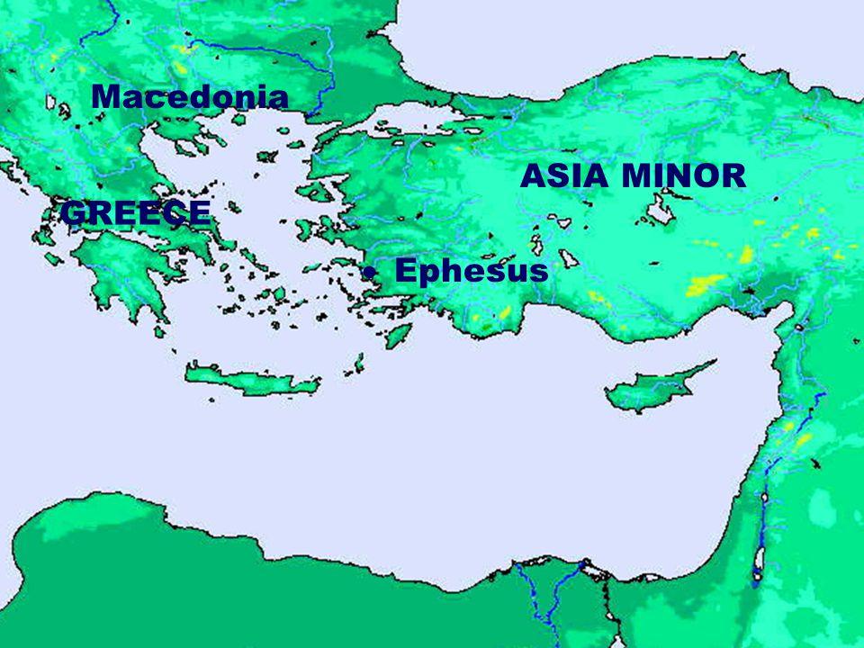GREECE ASIA MINOR  Ephesus Macedonia