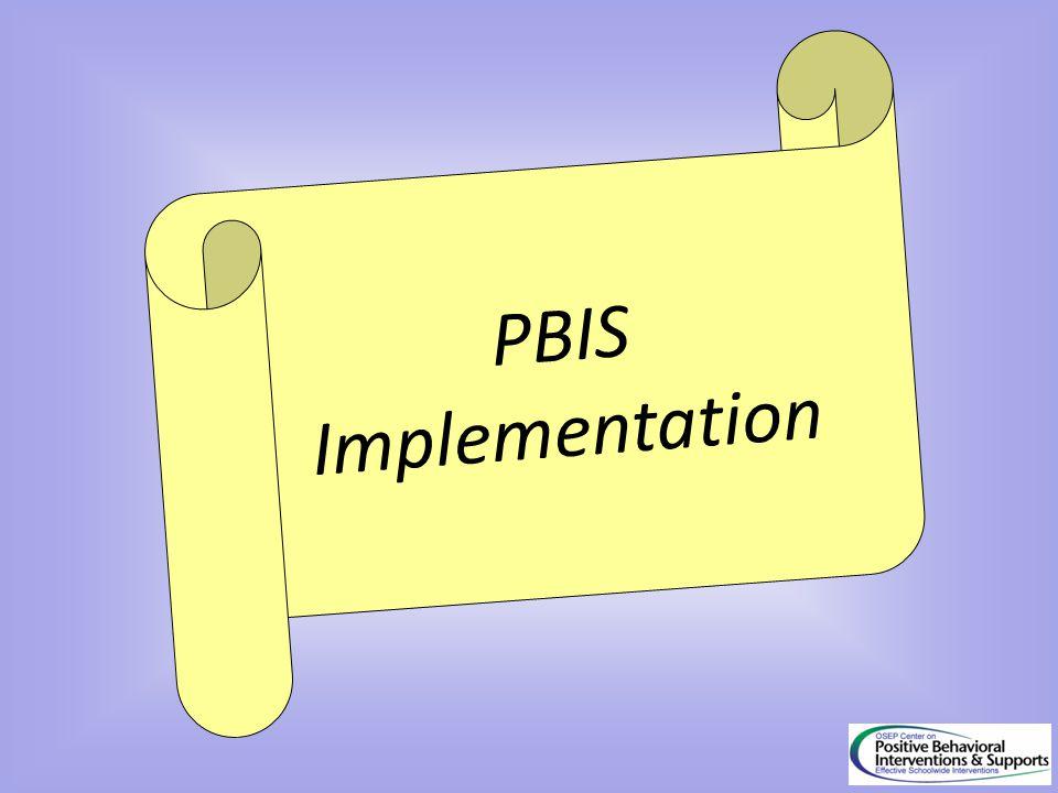PBIS Implementation