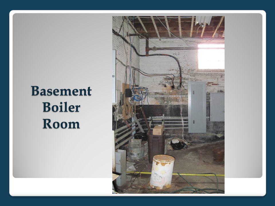 Basement Boiler Room