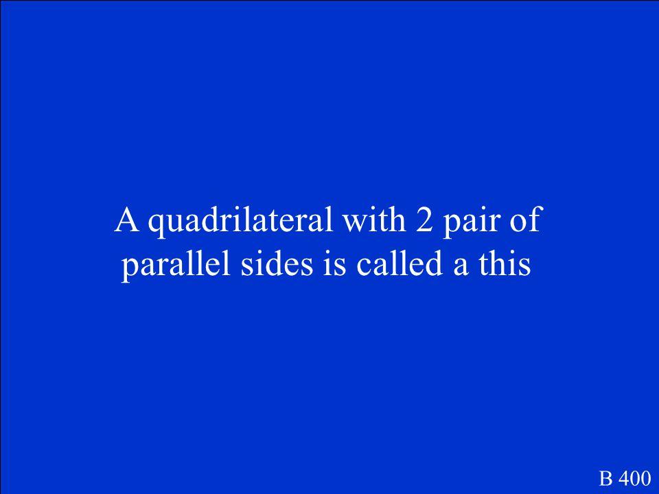 quadrilateral B 300