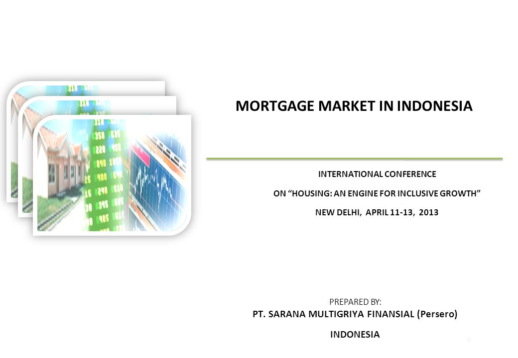 AGENDA  ECONOMIC OUTLOOK  PRIMARY MORTGAGE MARKET IN INDONESIA  SECONDARY MORTGAGE MARKET IN INDONESIA  CONCLUSION 1