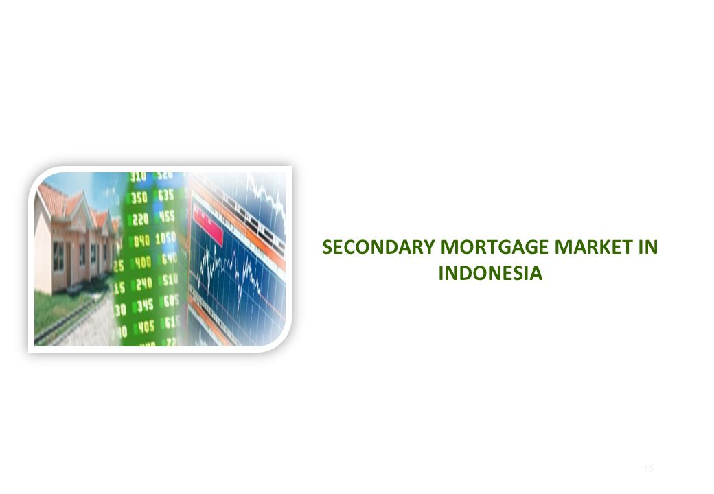 SECONDARY MORTGAGE MARKET IN INDONESIA 15