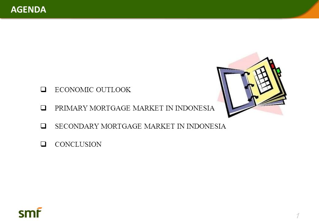 DEVELOPMENT OF SECONDARY MORTGAGE MARKET IN INDONESIA RMBS HOLDERS Current Position (Dec '12) Variety of investors continues to invest in Residential Mortgage Backed Securities (RMBS) 22