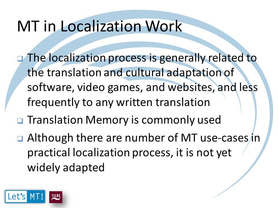 Integration of MT in SDL Trados