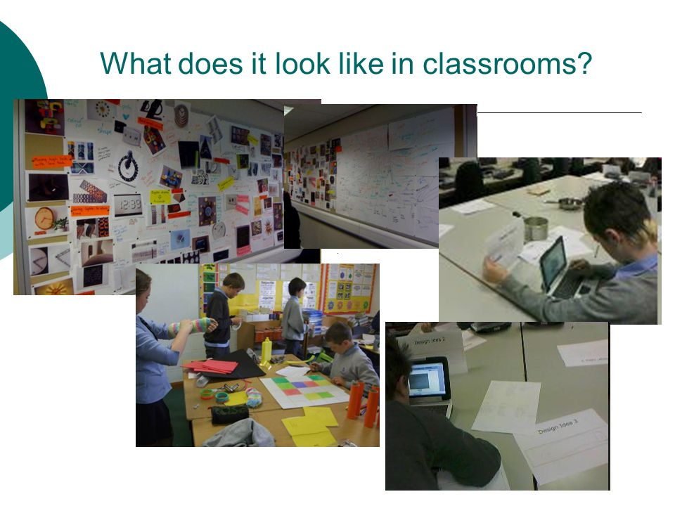 What does it look like in classrooms?