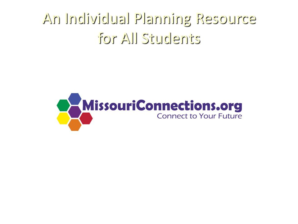An Individual Planning Resource for All Students