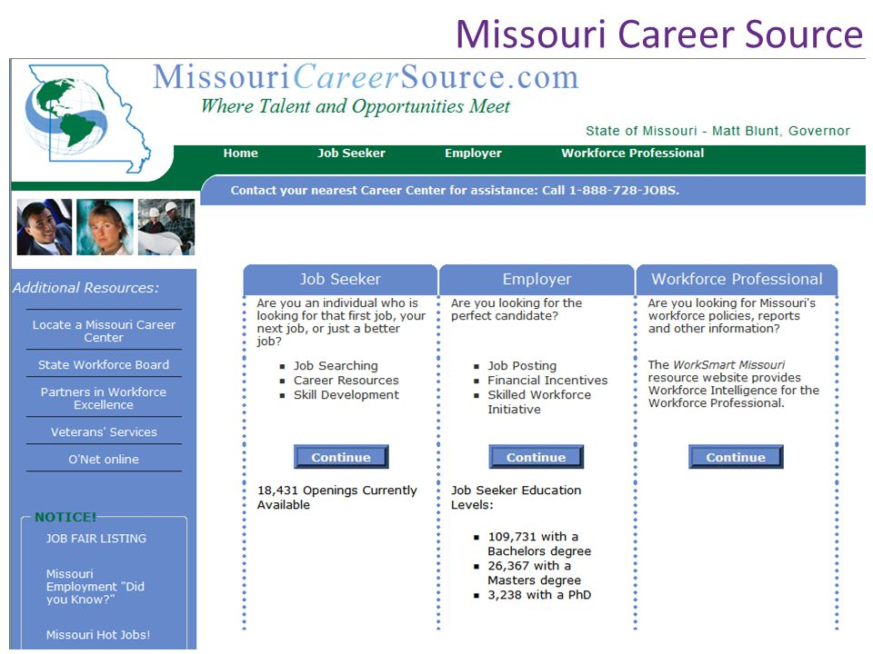 Missouri Career Source