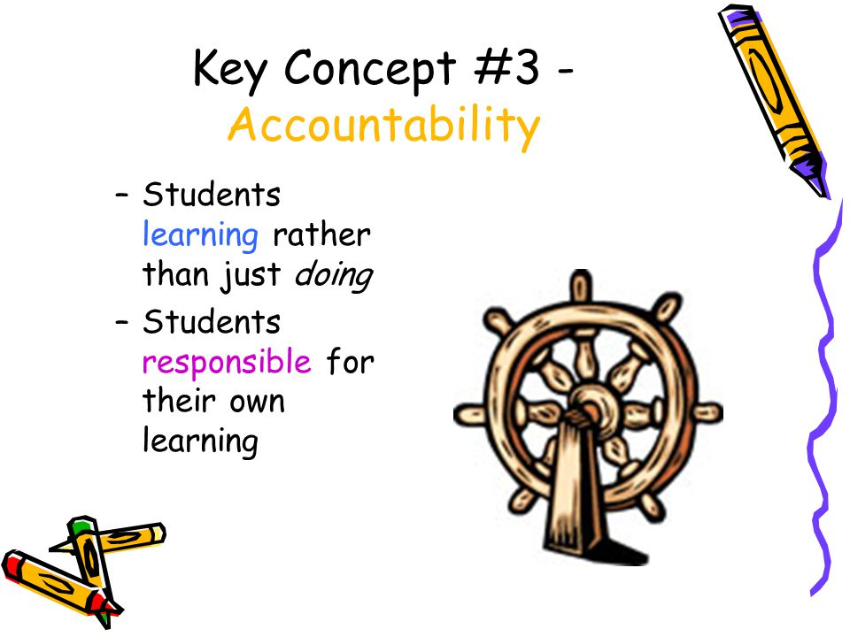 Key Concept #4 Personal Needs Met Name some that are needed for a student to be able to maximize learning?