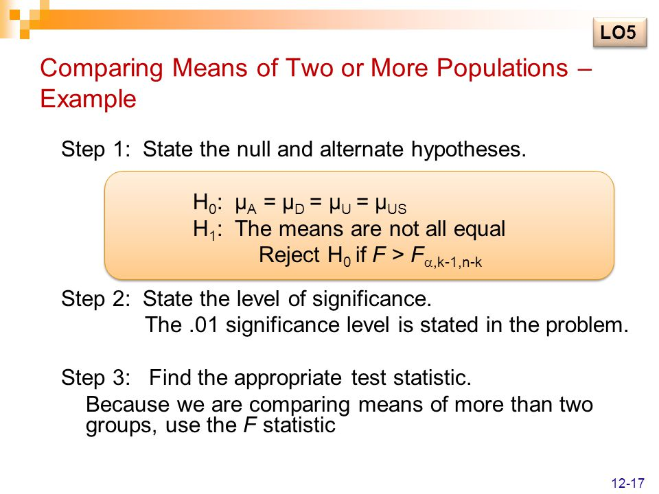 Step 4: State the decision rule.