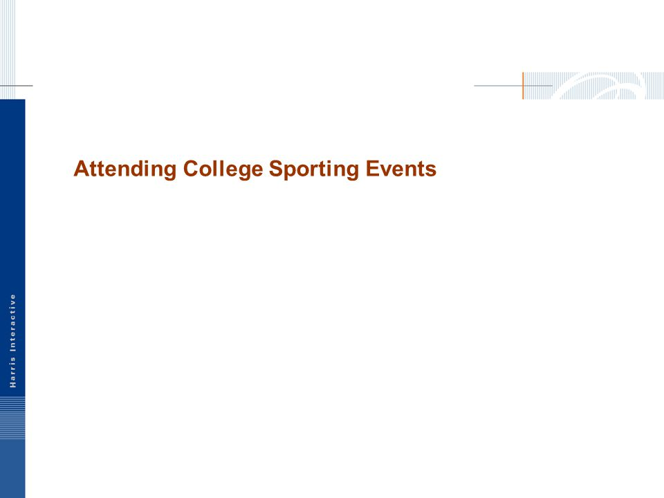 Attending College Sporting Events