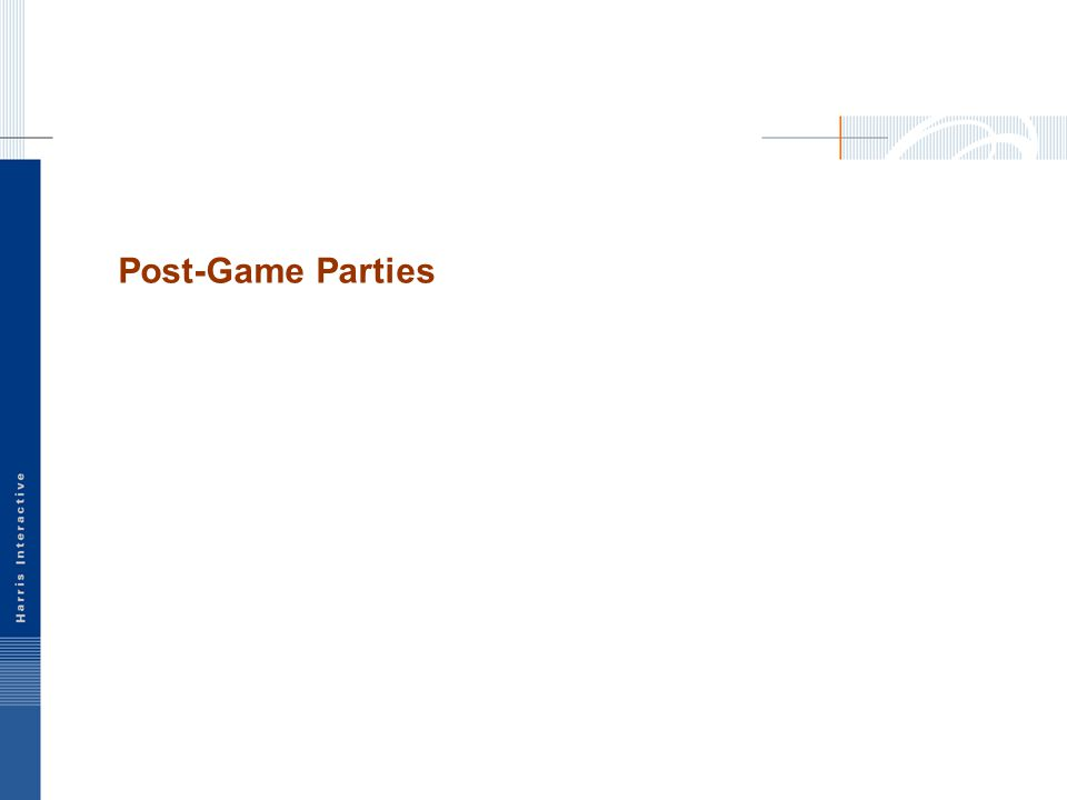 Post-Game Parties