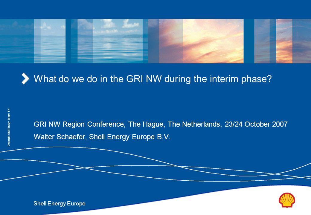 Shell Energy Europe Copyright: Shell Energy Europe B.V.
