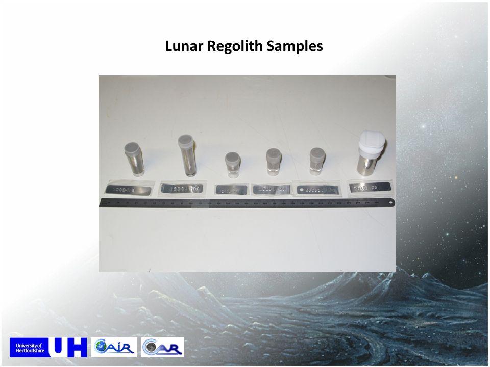 Lunar Regolith Samples