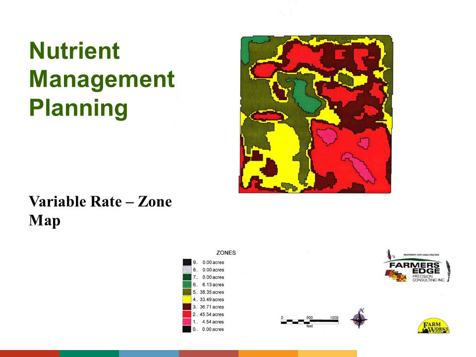 Nutrient Management Planning Variable Rate – Zone Map